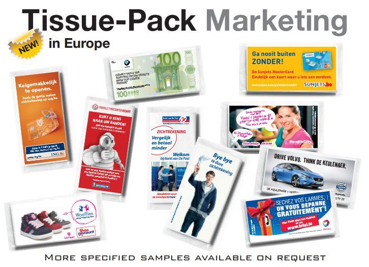 Memo neusdoekjes tissue pack marketing