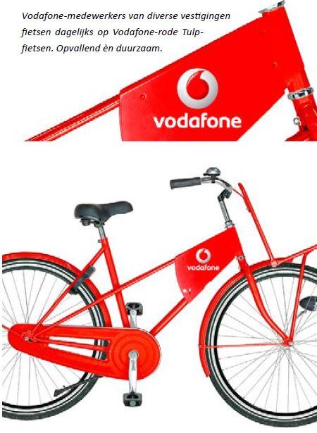 Vodaphone-tulp-fietsen