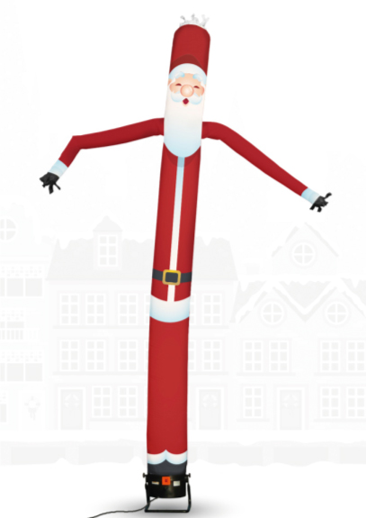 Skydancer-kerstman