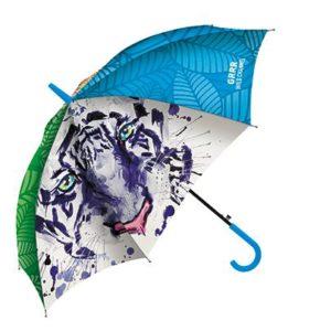 Full colour bedrukte paraplu's