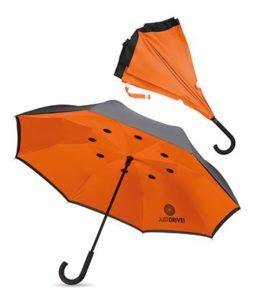 Omgekeerde paraplu