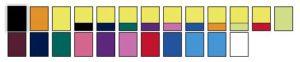 Kleuren veiligheidshesjes