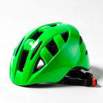 fietshelmen fluo groen voor volwassenen