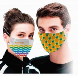 herbruikbaar bedrukte mondmasker met jouw logo of design
